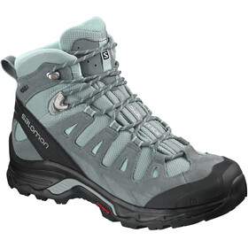 Salomon Quest Prime GTX Shoes Women Lead/Stormy Weather/Eggshell Blue